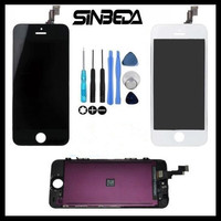 Sinbeda 1000 AAAAA Quality Pantalla For Apple IPhone 5 5G 5S 5C LCD Screen Display Touch