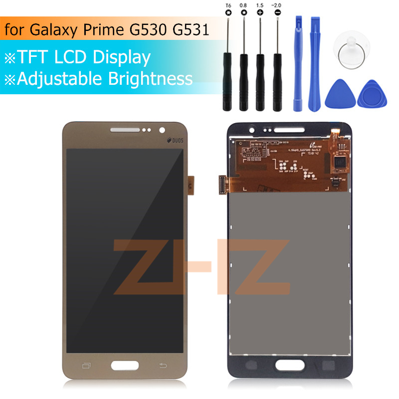 75ed3128102 For Samsung GALAXY Grand Prime lcd g531f lcd display Touch Screen G531H  G531 G531FZ G530 lcd