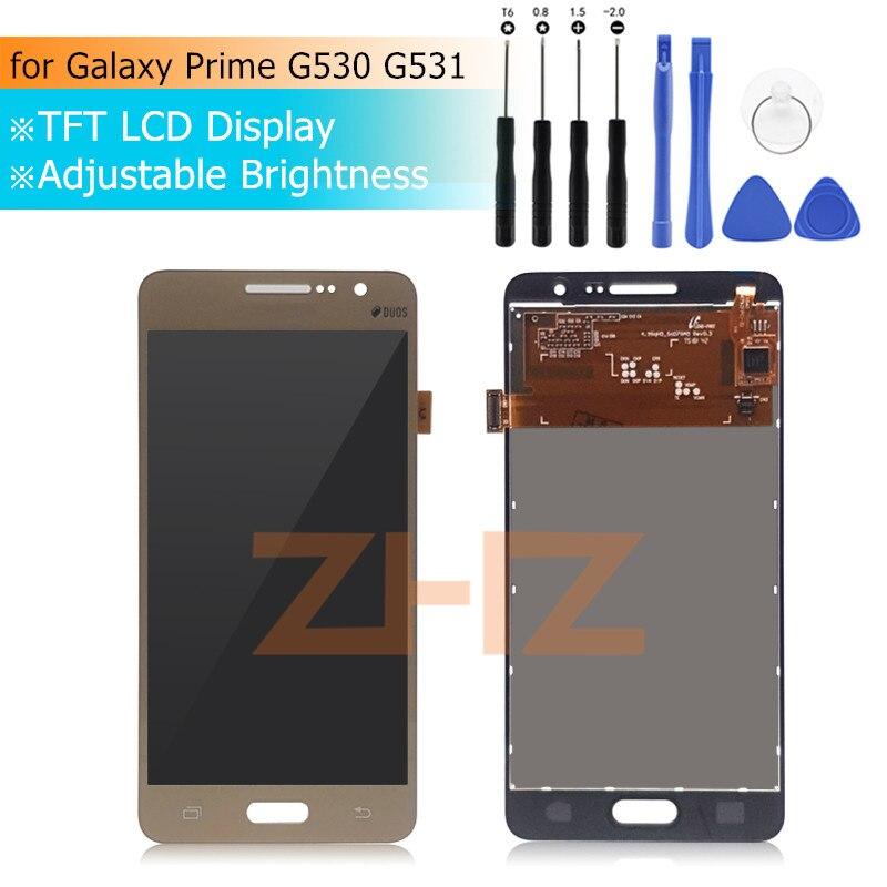 Pour Samsung GALAXY Grand Prime lcd g530 lcd écran tactile numériseur assemblée G531H G531f G531FZ G530 pièces de réparation d'affichage