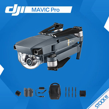 Dji mavic pro fly more combo 4k HD camera fpv mini fold drone 27 minutes temps 7km aerial photography and film Live View GPS(China)