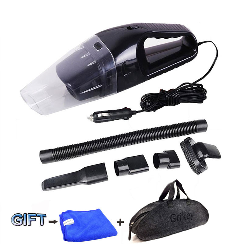 Car Vacuum Cleaner 120W Portable Handheld Vacuum Cleaner Wet and Dry Dual Use Car Vacuum Aspirateur Voiture 12V