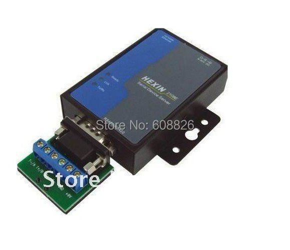 Free Shipping,RS232 /485 to TCP/IP Ethernet Serial Server Converter Device ,min:1 pcs