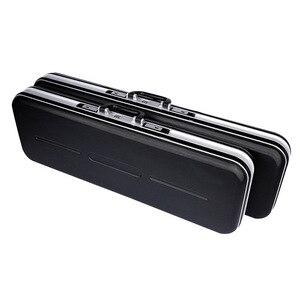 Image 2 - 새로운 abs 쉘 조절 낚시 가방 낚시 장비 막대 가방 전술 가방 접는 상자 케이스 코딩 된 잠금 방수