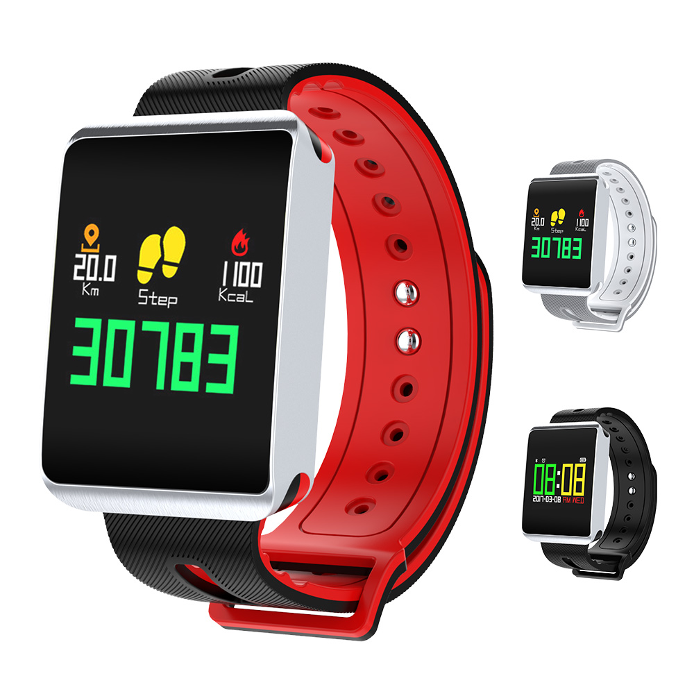 TF1 Bluetooth 4 0 Smart Watch Heart Rate Blood Pressure Oxygen Tracker Passometer for IOS font