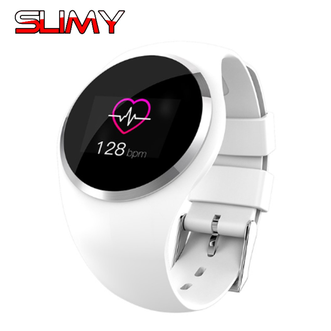 Slimy Fashion Q1 Lady Women Bluetooth Smart Watch Heart Rate Monitor Fitness Tracker Smartwatch For Android IOS Phone PK H1 H2