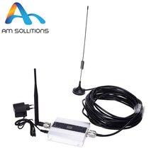 LCD GSM signal booster 900 MHz répéteur mini 2G téléphone cellulaire Amplificateur kit avec Antenne