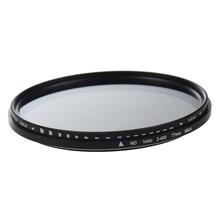 77mm Adjustable Neutral Density ND Fader Filter ND2 to ND400