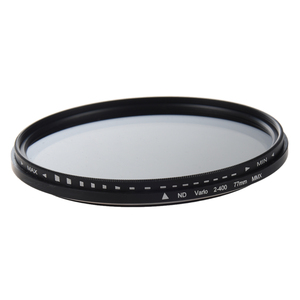 Image 1 - 77mm ayarlanabilir nötr yoğunluk ND Fader filtresi ND2 to ND400