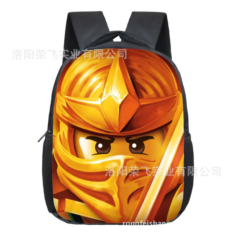 12 Inch High Quality Lego Batman Cartoon Backpack Colorful Kids Schoolbags Cool Child Student Boy School Bag