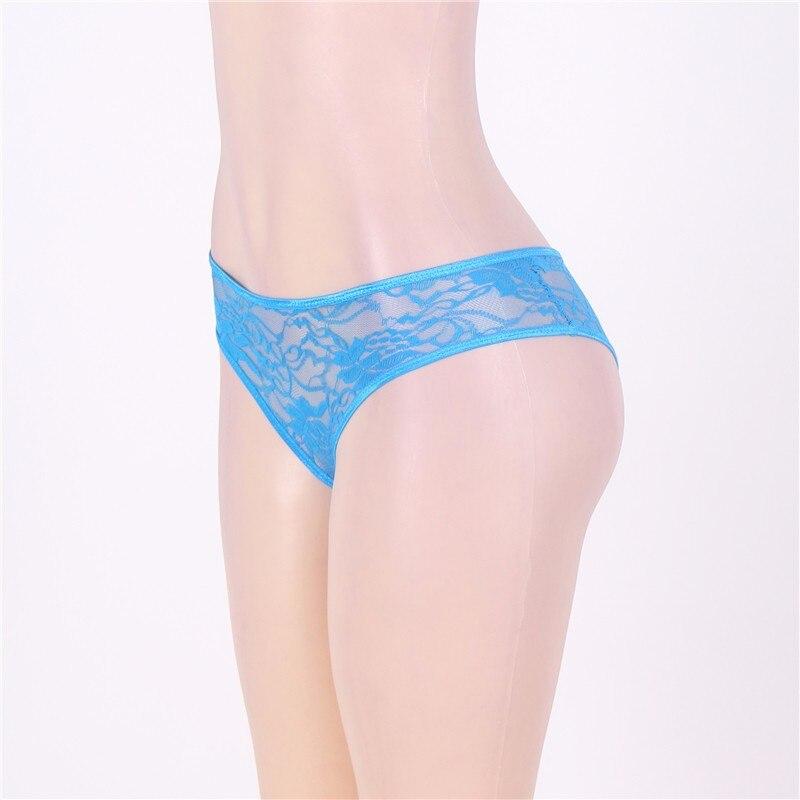 Comeonlover γυναικεία διάφανα εσώρουχα με άνοιγμα μέχρι 6xl msow
