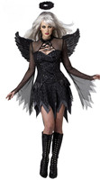 Fantasia Halloween Costumes For Women Sexy Costume Fantasy Cosplay Party Fancy Dress 2016 New Adult Fallen