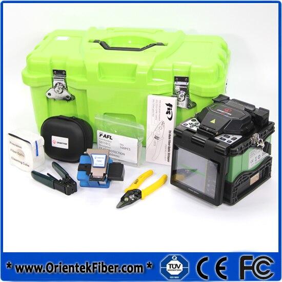 imágenes para Fusión Máquina de Empalme De Fusión De Fibra Óptica Splicer ORIENTEK T37 Kit, fábrica máquina de Empalme con 6 Idiomas