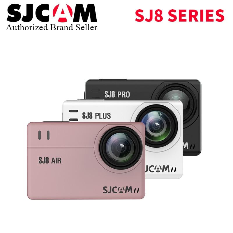Promition! SJCAM SJ8 Série SJ8 Air & SJ8 Plus & SJ8 Pro 1290 p 4 k D'action Caméra WIFI Télécommande étanche Sport DV