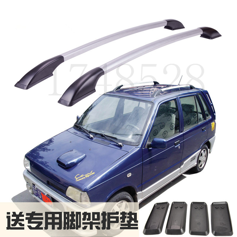 Accessories Refitting the roof rack of aluminum alloy luggage rack for suzuki alto Happy prince  Auto parts 1.2M auxmart universal car roof rack cross bar 120cm for nissan subaru toyota suzuki oldsmobile load carrier cargo luggage 68kg