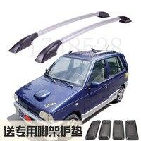 Akcesoria montaż bagażnik dachowy ze stopu aluminium bagażnik dla suzuki alto Happy prince Auto części 1.2M w Chromowane wykończenia od Samochody i motocykle na