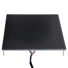 3D Yazıcı Parçaları Ultrabase Heatbed Platformu Inşa Yüzey cam plaka 310x310x4mm için Ender-3 MK2 MK3 Sıcak yatak sticker