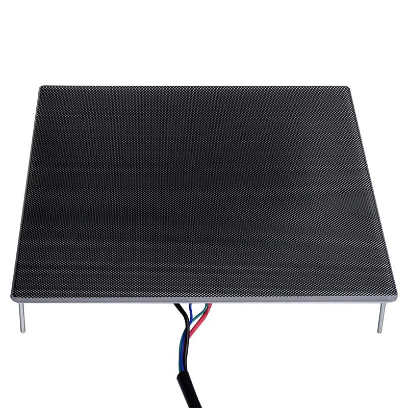 3D piezas de la impresora Ultrabase Heatbed plataforma construir superficie placa de cristal 310x310x4mm para Ender-3 MK2 MK3 caliente etiqueta adhesiva para cama