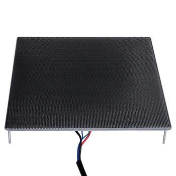 Peças de Impressora 3D Ultrabase Heatbed Superfície da Plataforma de Construção Placa De Vidro 310x310x4mm para Ender-3 MK2 MK3 hot cama adesivo