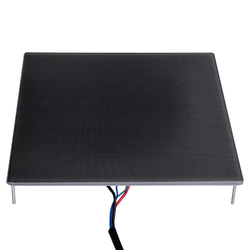 Peças de impressora 3d ultrabase plataforma heatbed construir placa de vidro superfície 310x310x4mm para Ender-3 mk2 mk3 cama quente etiqueta