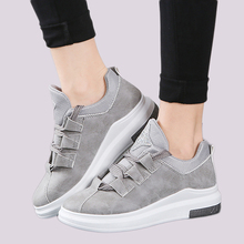Fujin Brand 2019 ladies shoes platform shoes sneakers women autumn shoes  for women flats lace up breathable sport casual