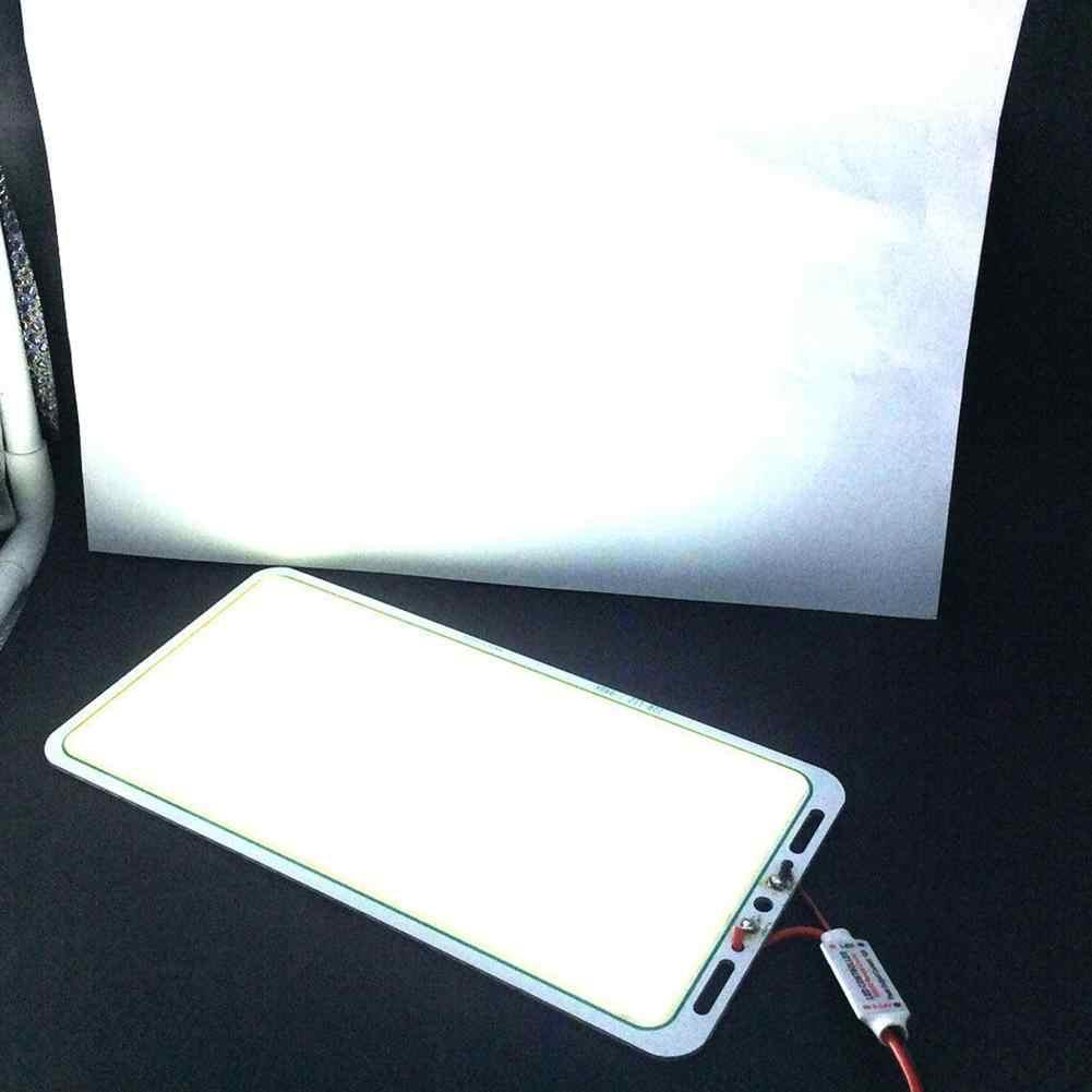 Super Bright LED Luce di Pannello 70W 12V COB Circuito Integrato del LED del Pannello Luce di Striscia Della Lampada Della Striscia 14000-16000LM Bianco Caldo /bianco freddo 220*112 millimetri