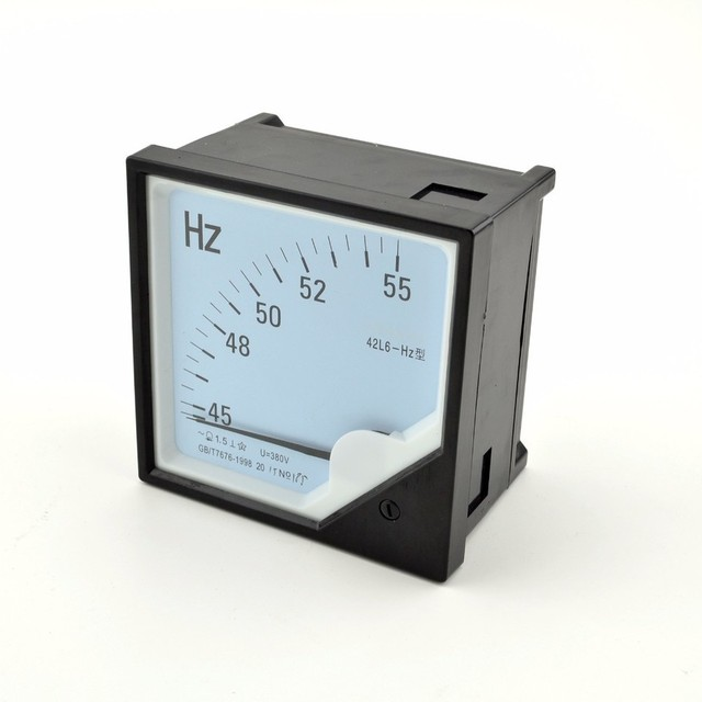 42L6(HZ 380V) frequency meter Pointer Diagnostic-tool Tester Cymometer Frequency Portable Counter Swr Meter hertz