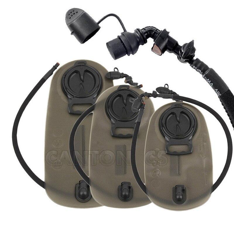 1.5l 2.0l 2.5l 3l alta qualidade militar grande boca saco de água esportes bexiga água hidratação saco de água para acampamento caminhadas escalada