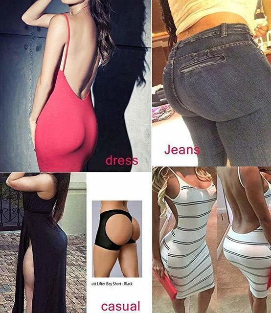 Women's Butt Lift Shaper Butt  With Tummy Control Female Booty