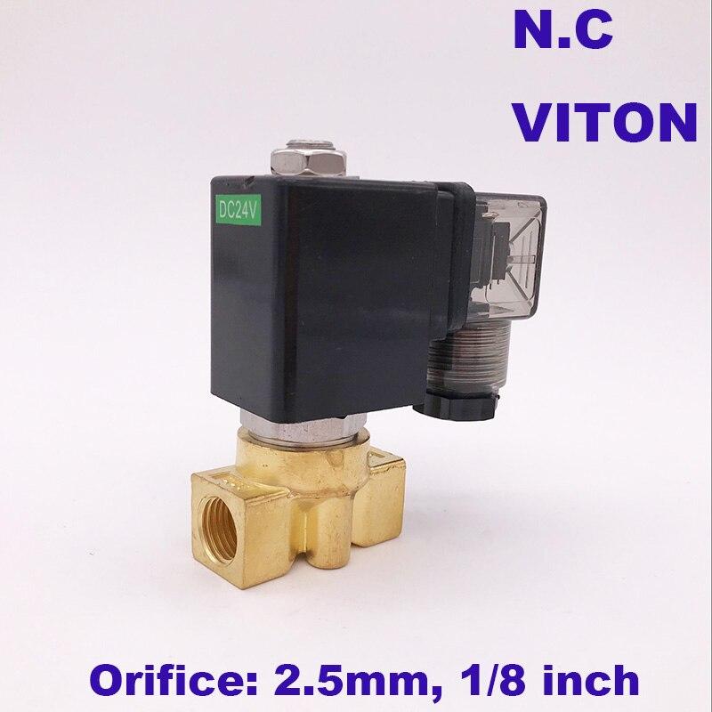 Sanitär Heimwerker Gogo 16bar 2 Weg Messing Hohe Temperatur Heißer Wasser Magnetventil 1/8 bsp 12 V Dc Öffnung 2,5mm Normal Geschlossen Pz-m03 Für Dampf