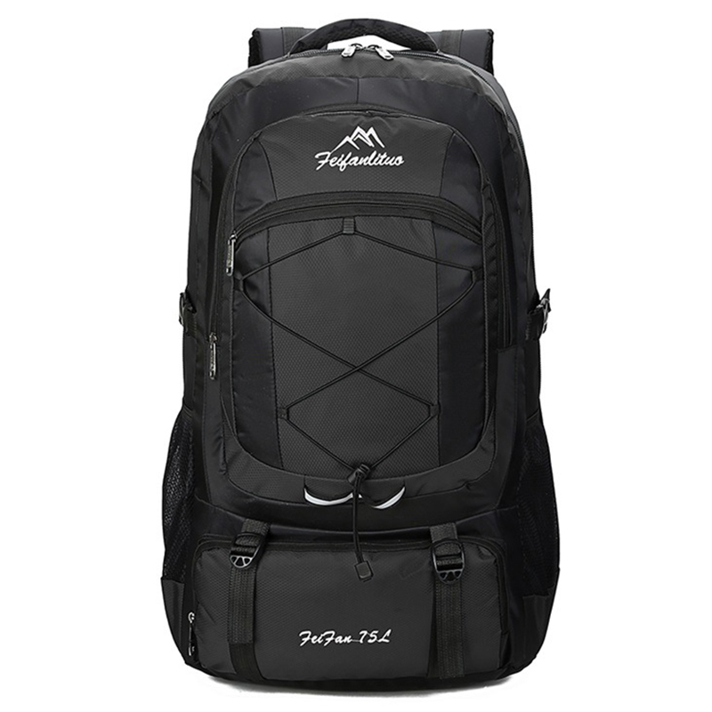 75L Waterproof Unisex Men Backpack Travel Pack Sports Bag Pack Outdoor Camping Mountaineering Hiking Climbing Backpack For Male