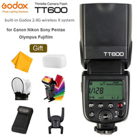 Godox TT600 TT600S 2.4G Wireless GN60 Master/Slave Camera Flash Speedlite for Canon Nikon Sony Pentax Olympus Fujifilm