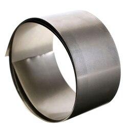 Высокая чистота 99.96% чистого никеля Ni металла фольги тонкий лист 0,1 мм x 30 мм x 1000 мм популярный