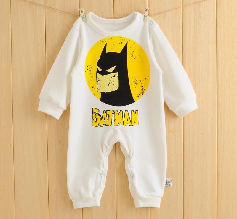 Cute Cartoon Baby Rompers Batman