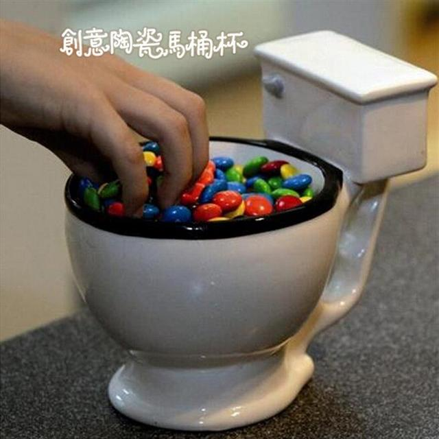 280ml Toilet Mug Super Hardcore Personalized Ceramic Mug Cup Creative Ice Cream Tea Coffee Mug Cup For Home Gift 1