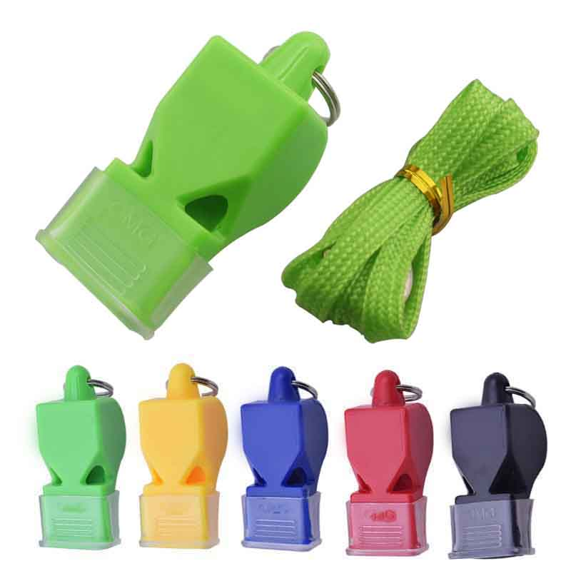 1Pcs Referee Classic Whistle High Decibel Sports Basketball Volleyball Football Tennis Dolphin Plastic Whistle