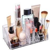 Fashion Jewelry Storage Box Lipstick Makeup Dresser Holder Container Home Organizer Accessories Supplies Gear Stuff Product