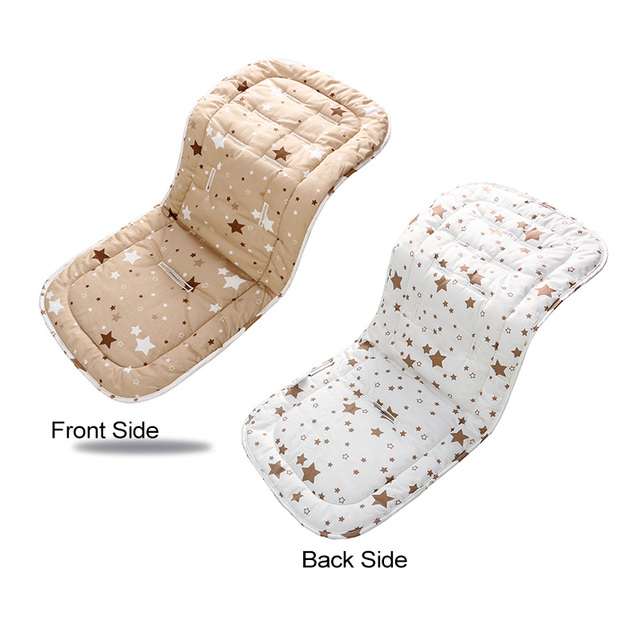 2019 Fashion Baby Diaper Pad New Cheap Baby Stroller Cushion Cotton Stroller Pad Seat Pad For Baby Prams Stroller Accessories 3