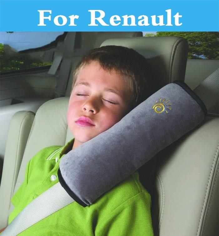 Car SeatBelt Cushion Shoulder Pad Cover pillow Comfortable For Renault Sandero RS Symbol Talisman Twingo Twizy Vel Satis WindZOE