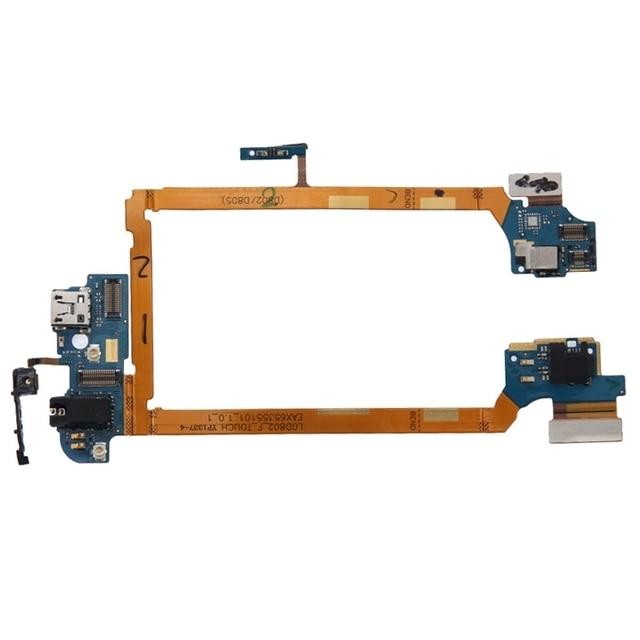 Ipartsbuy carregamento porto flex cable para lg g2/d802