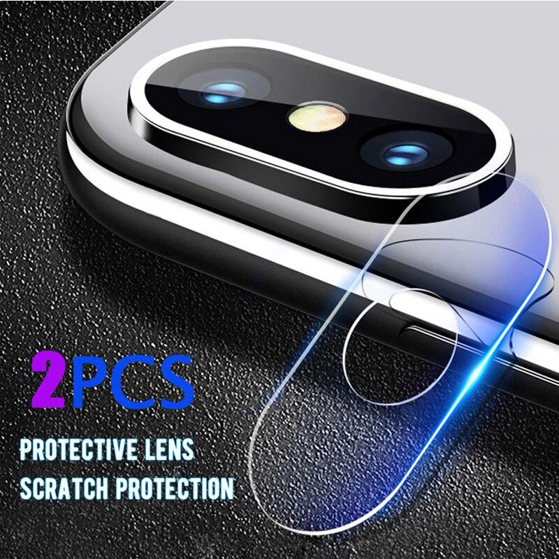 2PCS Camera Lens Vetro Temperato Per Xiao mi mi A3 9 T mi 8 se A2 lite MI 6X 5X A1 6 Per Red mi nota 7 6Pro 7A MI x2 2 s 3 MAX2 3 Pro