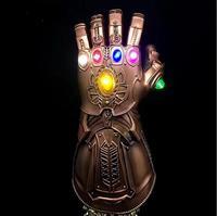 Thanos cos glove Infinity Gauntlet cosplay light PVC