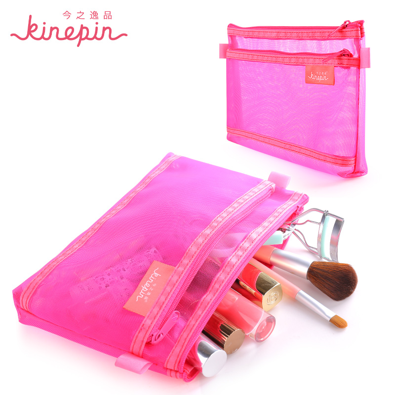 KINEPIN Makeup Brush Bag Travel Organizer Cosmetic Bag Meshy Zipper Pouch for Beauty Accessories Makeup Brushes Tools-in Eye Shadow Applicator from Beauty  Health on Aliexpresscom  Alibaba Group