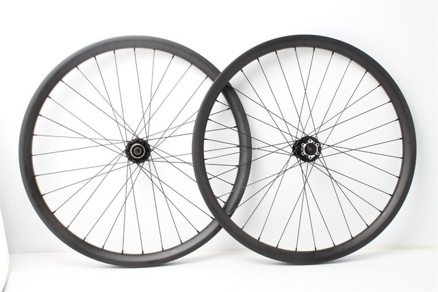 8752764afe3 BOOST carbon clincher wheelsets 29er   650B clincher rims 42mm wide 25mm  deep 32H 32H with Novatec 6 bolts disc hub Farsports-in Bicycle Wheel from  ...