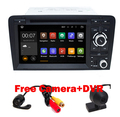 Бесплатная Доставка 2 Din Автомобильный DVD Android 5.1 Для Audi A3 2002-2011 С Wifi 3 Г GPS Навигации BT Радио Свободная Камера + DVR Карта