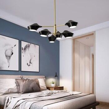 הפוסטמודרנית פשוט נברשת סלון אזור הקבלה מסעדת חדר שינה יצירתי IndividualityNordic מנורה
