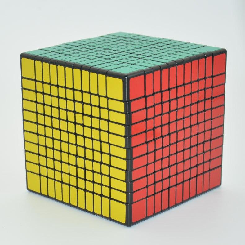 Néo Cube vitesse sans bâton Puzzle Cube magique pour Begginer 11x11x11 Cubo Magico éducation jouet enfants adultes jouets éducatifs