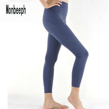 Monbeeph imprimé leggings taille haute pantalon longueur cheville pantalon 7/8 pantacourt crayon pantalon slim