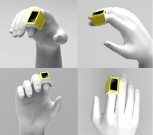 Finger Ring Mouse Smart Wearable Device