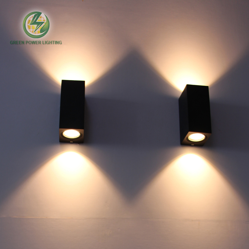 Outdoor lighting, out door LED COB Wall Light, balcony led wall lamp 6W, warm whtie, cold white