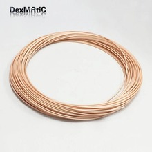 1M RG316 High Temperature Brown Transparent OD 2.5 RF Coaxial Cable
